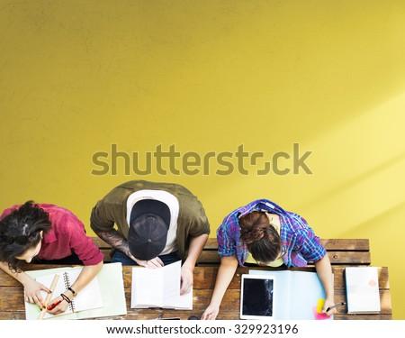 Students Studying Learning Education Community