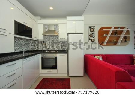 Studio Apartment Home Interior Design
