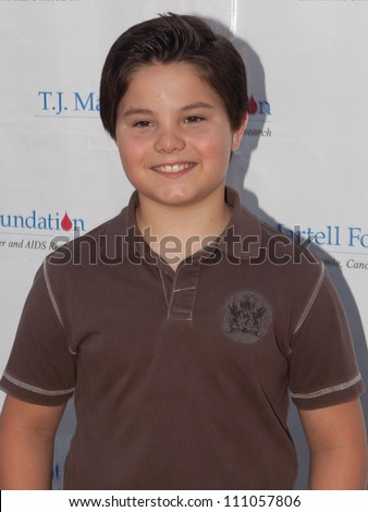 STUDIO CITY - SEPT 18: Zach Callison attends Dia Frampton & Disney Stars to Perform at T.J. Martell Foundation Family Day at CBS Studios Backlot, September 18, 2011 in Studio City, CA