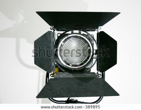 Studio Lamp - stock photo