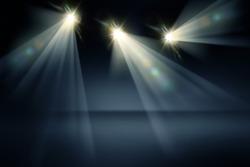 Studio Lights Background