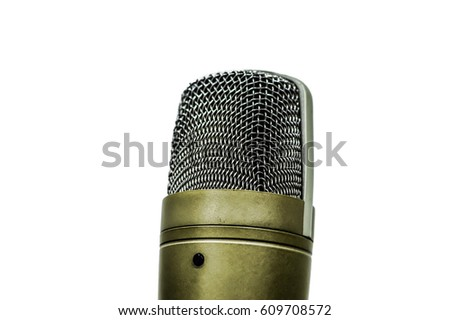 Studio Microphone #609708572