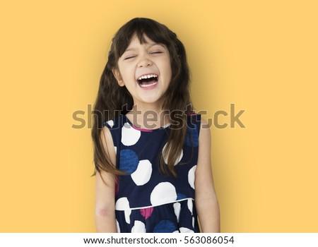Studio People Kid Shoot Schoolgirl Race #563086054