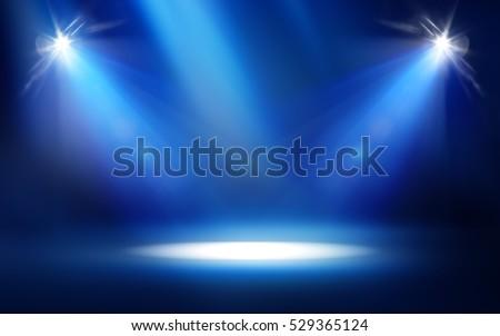 Studio Spotlight Background - Shutterstock ID 529365124