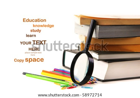 Study time conceptual image of education & knowledge