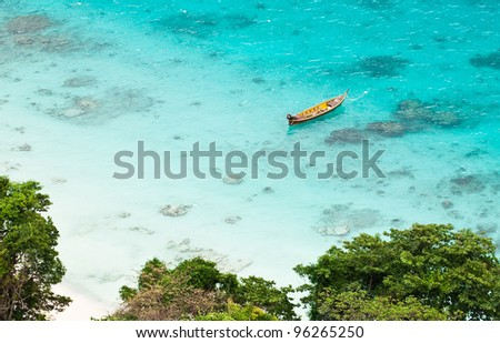 Stock Photo Stunning bay around Similan islands, Thailand