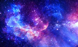 Stunning Galaxy - Elements of this Image Furnished by NASA