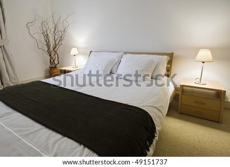 stunning luxury bedroom with amazing modern furniture
