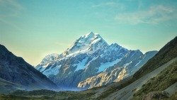 Stunning Mt Cook view in New Zealand