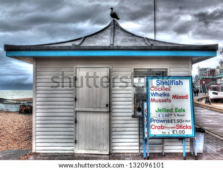 Stunning old beach shop