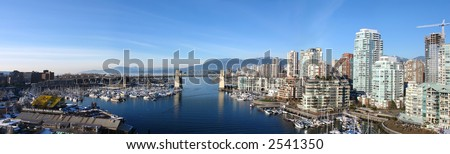 Stunning Panorama of Vancouver, BC