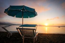 Stunning Sunset in Lago di Bracciano