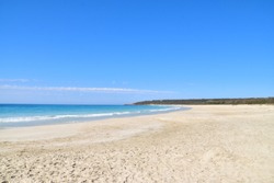 Stunning view on the beautiful beach in the Bunker Bay, Dunsborough - Western Australia