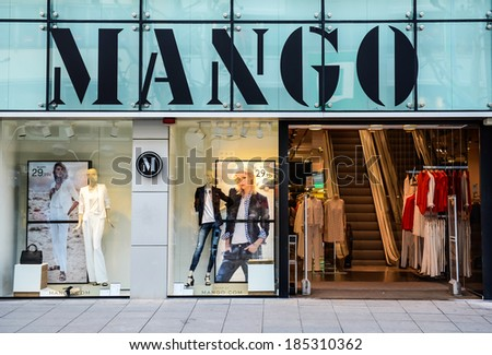 Clothing stores in germany