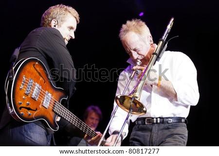 "STUTTGART - JULY 02: Group ""Chicago"" in concert at Jazzopen Stuttgart July 02, 2011 in Stuttgart, Germany."