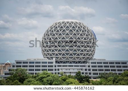 style circular building  ...