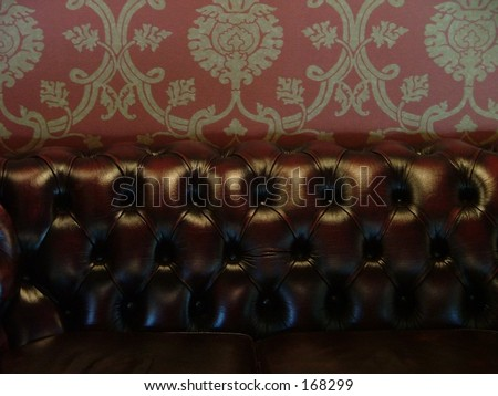 style furniture in a restaurant