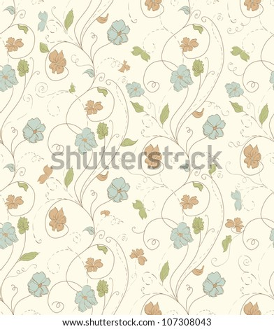 Style seamless pattern colorful autumnal colors raster for decor wall, border, postcard, paper, paint,  baby congratulations, web, sketchbook, scrapbooking, colorful texture vector is also available.