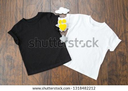 "Styled Stock Photography ""Thing 1 and Thing 2"", Mockup-Digital File, Black and White Toddler T-shirts Gender Neutral Mock Up #1318482212"