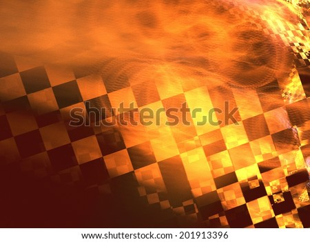 Stylish abstract background with iridescent highlights topics close to racing and speed
