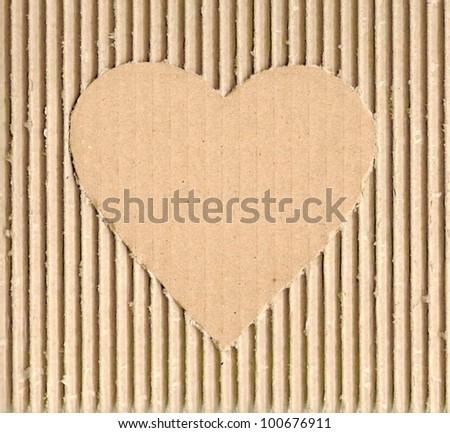 Stylish abstract heart