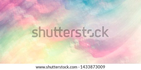 Stylish and harmonious background blur. Colours tender spring or summer greens, fresh and energizing. The mood of spring, blooming, harmony and joy.