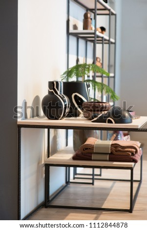 stylish apartments in Scandinavian style #1112844878