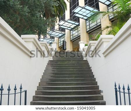 stylish building entrance #15041005