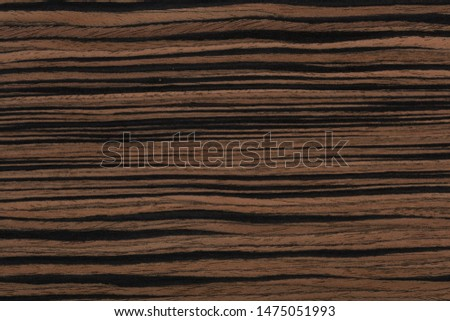 Stylish ebony veneer background in unique colors in brown tone. High quality texture in extremely high resolution. 50 megapixels photo.