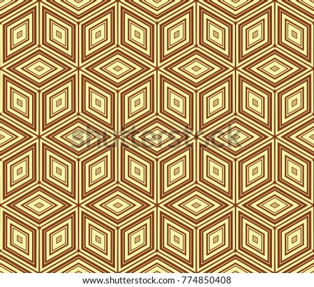 Stylish geometric background. Abstract seamless pattern. illustration.
