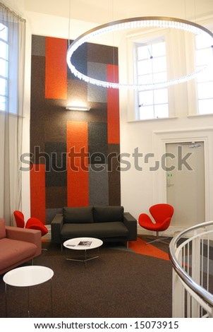 Stylish Interior Design In Office Stock Photo 15073915