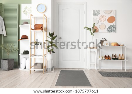 Stylish interior of modern hall Stock fotó ©