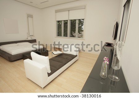 Stylish modern furniture in a home\\ \\ Furniture provided by\\ www.lignerosetmiami.com