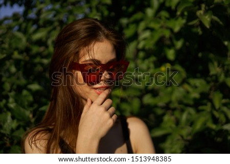 stylish stylish model woman outdoors