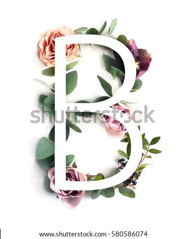 free photos alphabet made of flower letter b avopix com