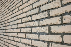 Stylized brickwork wall close-up as a background.