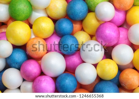 Styrofoam Balls, Wedding Decorative Polystyrene Spheres bubbles, Abstract spheres with colors #1246655368