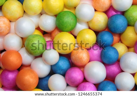 Styrofoam Balls, Wedding Decorative Polystyrene Spheres bubbles, Abstract spheres with colors #1246655374