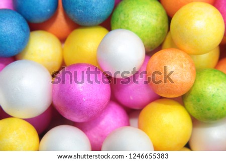 Styrofoam Balls, Wedding Decorative Polystyrene Spheres bubbles, Abstract spheres with colors #1246655383
