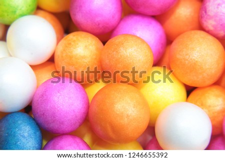 Styrofoam Balls, Wedding Decorative Polystyrene Spheres bubbles, Abstract spheres with colors #1246655392