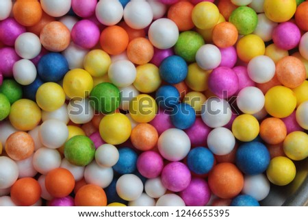Styrofoam Balls, Wedding Decorative Polystyrene Spheres bubbles, Abstract spheres with colors #1246655395