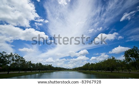 Suanluang RAMA 9 - stock photo