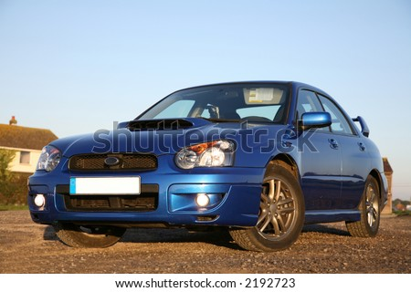 Subaru Impreza - Concept of Fast Performance Cars