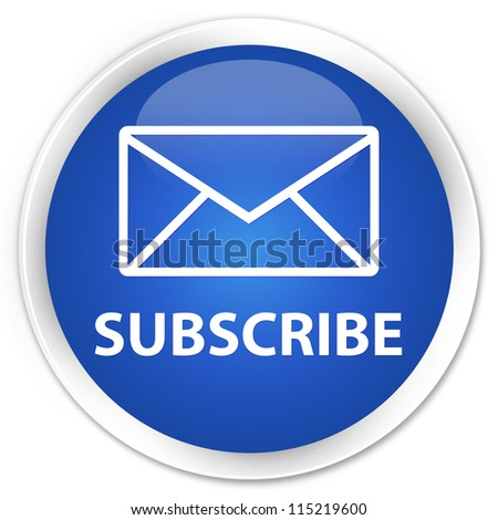 Subscribe blue button