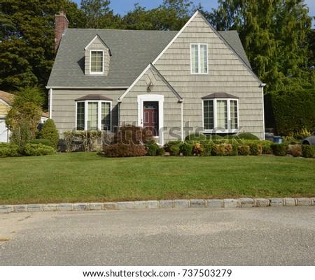 Suburban Bungalow home USA #737503279