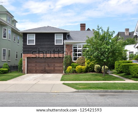 Front Yard Residential Stock