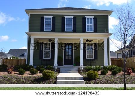 Suburban New England Style American Dream Home