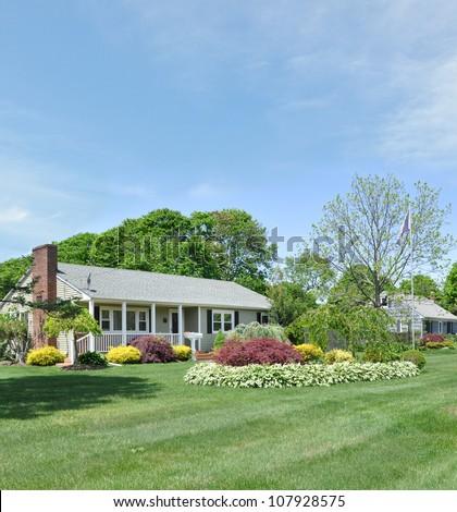 Front Yard Landscape Designs For Ranch Homes