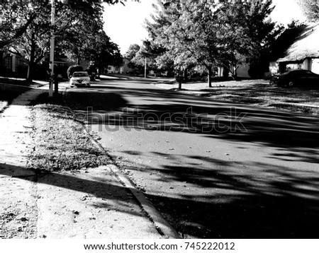 Suburban street #745222012