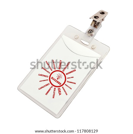 success badge on a white background